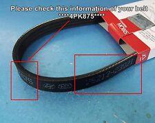 OEM 4PK875 V-Ribbed Belt Hyundai Tucson Elatra Excel Tiburon COUPE Lantra Pony