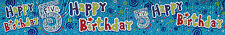5TH BIRTHDAY/ AGE 5 BOY BLUE FOIL BANNERS (EX)