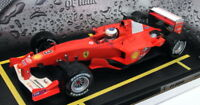 Hot Wheels 1/18 Scale Diecast - 56133 Michael Schumacher King of the Rain 2001