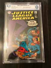 Justice League of America 75 • Black Canary • CBCS 9.2 White Pages • Like CGC