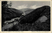 Bad Lauterberg im Harz Ansichtskarte ~1930 Blick vom Hausberg in das Luttertal