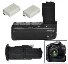 Pro Battery Grip pack for Canon EOS 550D 600D 650D 700D T2i T3i T4i + 2 X LP-E8P