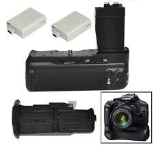 Pro Battery Grip pack for Canon EOS 550D 600D 650D 700D T2i T3i T4i + 2 X LP-E8P
