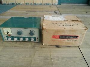 TESTED HEATHKIT DX-60A HF TRANSMITTER WITH ORIGINAL BOX