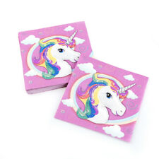 20x unicorn napkins paper napkins baby shower happy birthday party decoration LJ