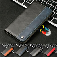 For Xiaomi Redmi Note 7 6 Pro 6A 5A Leather Magnetic Flip Wallet Case Cover Skin