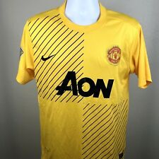 Manchester United Soccer Jersey 2013 2014 Nike Yellow Youth Size XL. H1