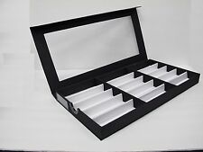 Optical Frames Eye-wear Watch jewelry Display Tray Clear Box each for15 eyeglass