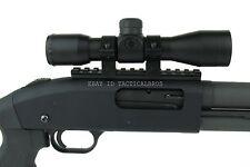 Mossberg 500/590/835/Maverick 88 Shotgun Rail+4x32 Mil Dot Reticle Scope Optic