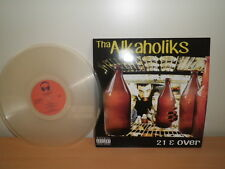 "Tha Alkaholiks ""21 & Over"" LP Neuf! Brand New! LTD! Clear Vinyl"