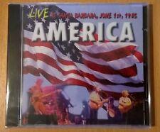AMERICA Live At Santa Barbara, June 1st, 1985 (CD neuf scellé/sealed)