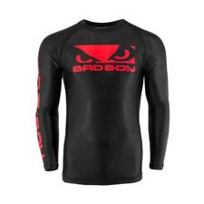 Bad Boy Origin Rash Guard Black Red MMA BJJ No Gi Grappling Compression Top