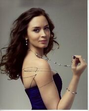 EMILY BLUNT Signed Autographed Photo