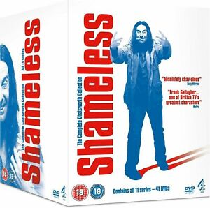 """SHAMELESS COMPLETE SERIES COLLECTION 1-11 DVD BOX SET 41 DISC """"NEW&SEALED"""""""