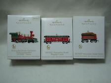 2012 Hallmark Lionel Cascanueces Route Navidad Conjunto Tren de 3 Loco Domo