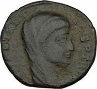 CONSTANTINE I the GREAT 347AD  Ancient Roman Coin Christian Deification  i35712