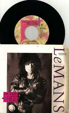 """TONY LEMANS: HIGHER THAN HIGH (1989 US PROMO 7"""" SINGLE/ PS/ NO BARCODE) PRINCE"""
