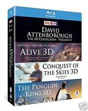 David Attenborough 3D Collection Volume 2 (Blu-ray 3D)~~Region-Free~~NEW SEALED