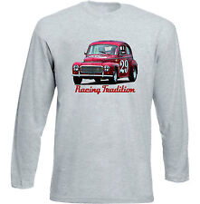 VOLVO PV 544 - GREY LONG SLEEVED TSHIRT- ALL SIZES IN STOCK