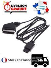 CABLE CORDON PERITEL RGB AV/TV NEUF CONSOLE SUPER NINTENDO SNES N64 GAMECUBE