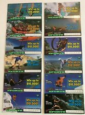 Extreme Sports  Instant SV Lottery Ticket Set