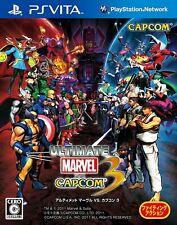 PS Vita Ultimate Marvel vs. Capcom 3 Japan PSV