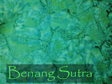 Batik Cotton Quilting Craft Fabric Sewing Emerald Marble