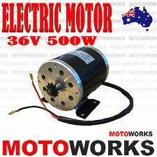36V 500W MY1020 ELECTRIC MOTOR SCOOTER PUSH BIKE QUAD ATV DIRT BICYCLE