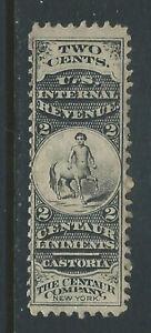 Bigjake: RS51d, 2 cent The Centaur Co., Match & Medicine