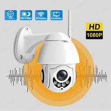 1080P TELECAMERA IP CAMERA DOME WIFI WIRELESS WEBCAM IR INFRAROSSI PER ESTERNO