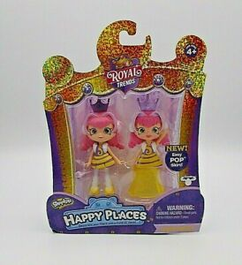 Shopkins Queen Beehave Happy Places Royal Trends Princess NEW In Box