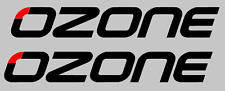 2 x Large Ozone Stickers/Decals- Kite-Surfing/Watersports/ Windsurfing