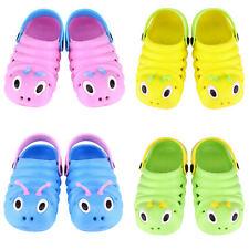 Kids Baby Boys Girl Summer Sandals Slippers Beach Clogs Caterpillar Infant Shoes