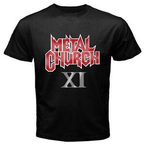 Metal Church XI Men's Black T-Shirt Size S to 3XL