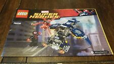 Lego Marvel Super Heroes (76036) Carnage's Shield Sky Attack - Manual Only