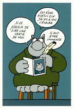 Carte postale Chat (Le) 'Si le plaisir de lire une carte de moi est égal à celui