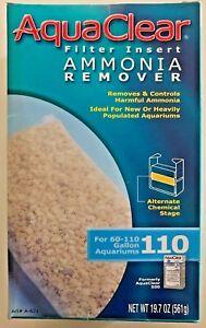AquaClear 110 (500) Fish Tank Filter Ammonia Remover A-621 A621