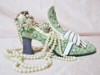 Victorian Inspired Ceramic Shoe, Jewerly - other storage, Elegant  Classy Design