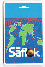 CARTE / CARD  HOTEL CLE  KEY .. FRANCE SAFLOK WORLDWIDE EUROPE MAGNETIQUE
