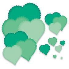 PCD88 - CRAFTS TOO Presscut Cutting Dies - Big Heart Scalloped Edge Free UK P&P