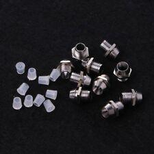 10 Pcs 3MM Round Chrome Metal Base LED Light Emitting Diode Bezel Holder