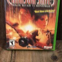Xbox Original: Crimson Skies: High Road to Revenge - COMPLETE Game w Manual 2003