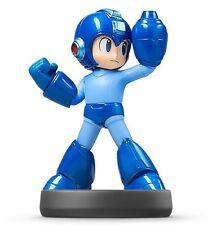 Nintendo 3DS Amiibo Rockman Megaman Figure Super Smash Bros. Wii U Japan Import