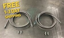 Stainless Steel Rear Brake Line Replacement Kit For 98-02 Honda Accord W/Drum