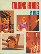 Talking Heads Book 1981 David Byrne Brian Eno By Miles Omnibus Chris Frantz RARE