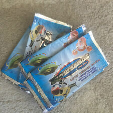 THUNDERBIRDS ARE GO MOVIE TRADING CARDS 7 x EMPTY WRAPPERS  Gerry Anderson