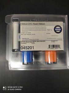 Fargo 045201 Premium Black ribbon for DTC4500 - 3000 Prints