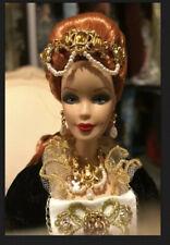 2001 Faberge Imperial Grace Porcelain Barbie Doll #52738 Mint