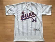 Nolan RYAN # 34 Jacksonville SUNS Retro Replica Jersey Sz XL SGA Mets Rangers