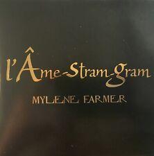 MYLENE FARMER - L'AME-STRAM-GRAM (VERY RARE FR. PRESSING PROMO COPIE 1 TRK 1 MAX